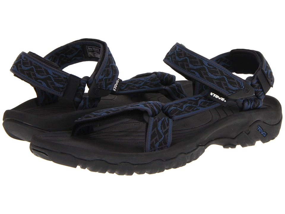 Teva - Hurricane XLT (Wavy Trail Insignia Blue) Men