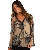 Hale Bob - Dream Boat Satin Burnout Tunic