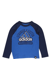adidas Kids - Watch And Learn L/S Tee (Toddler/Little Kids)