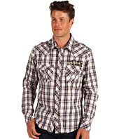 Rock and Roll Cowboy - L/S Snap Woven Plaid