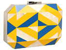 Rafe New York - Dawn Minaudiere (Blue/Yellow)
