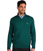 Lacoste - Half Zip Cotton Jersey Sweater