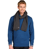 Lacoste - Men's Croc Cotton Wool Double Face Knit Scarf