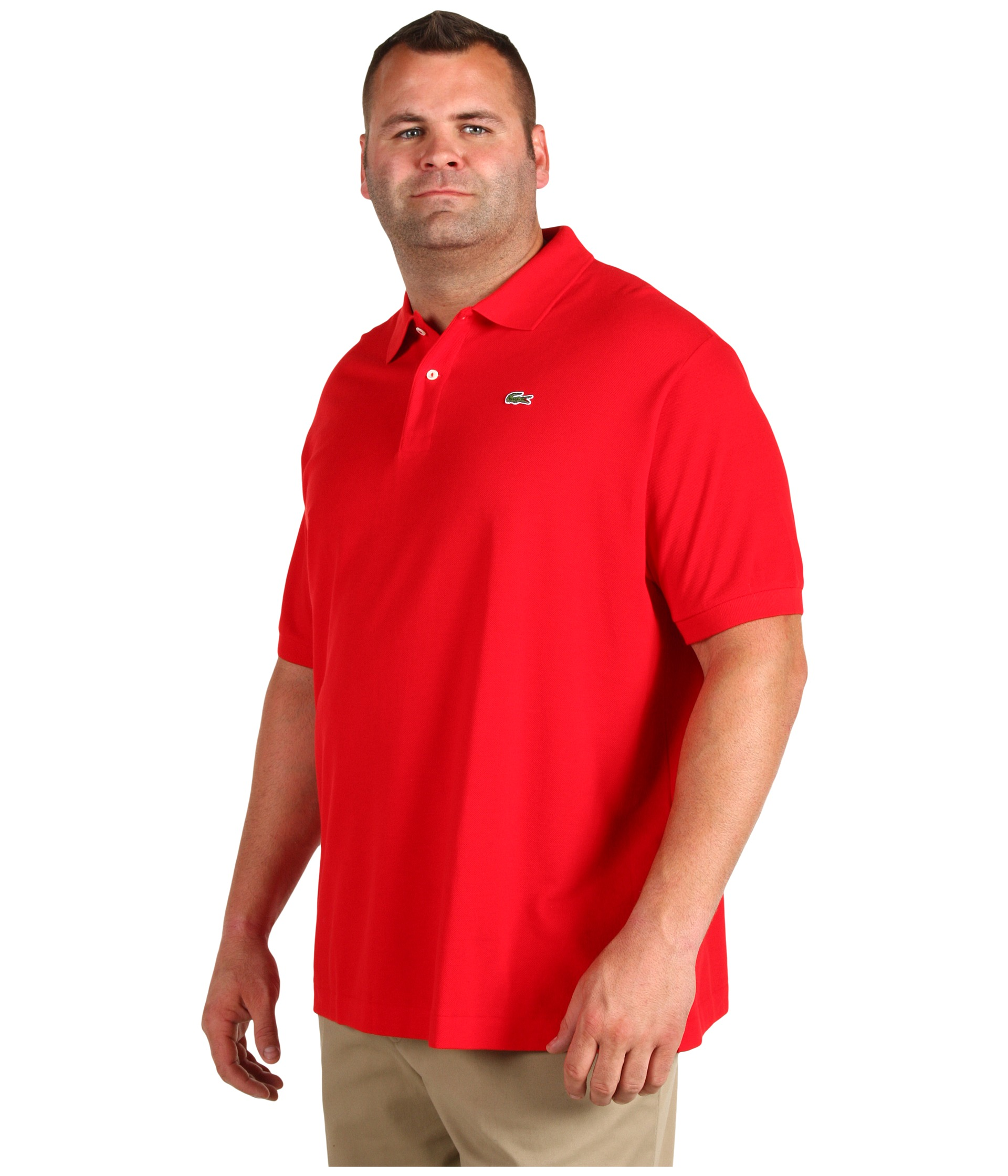 Lacoste tall s s classic pique polo free for Lacoste big and tall polo shirts