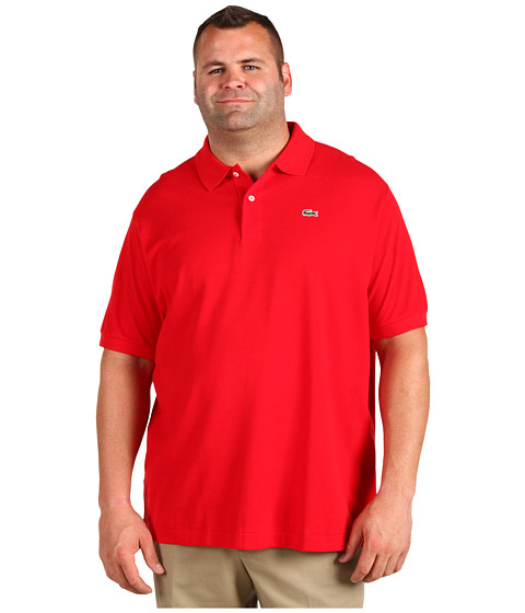 Lacoste tall s s classic pique polo for Lacoste big and tall polo shirts