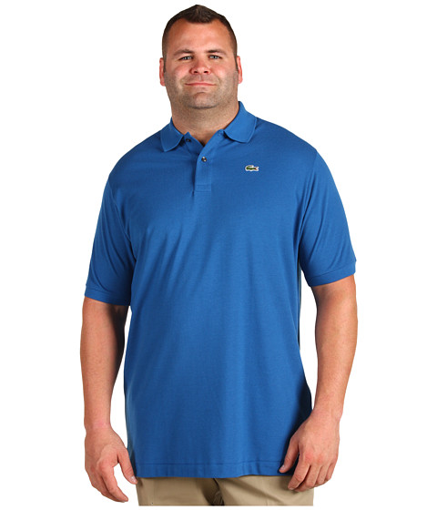 Cheap price lacoste tall s s classic pique polo baltic for Lacoste big and tall polo shirts