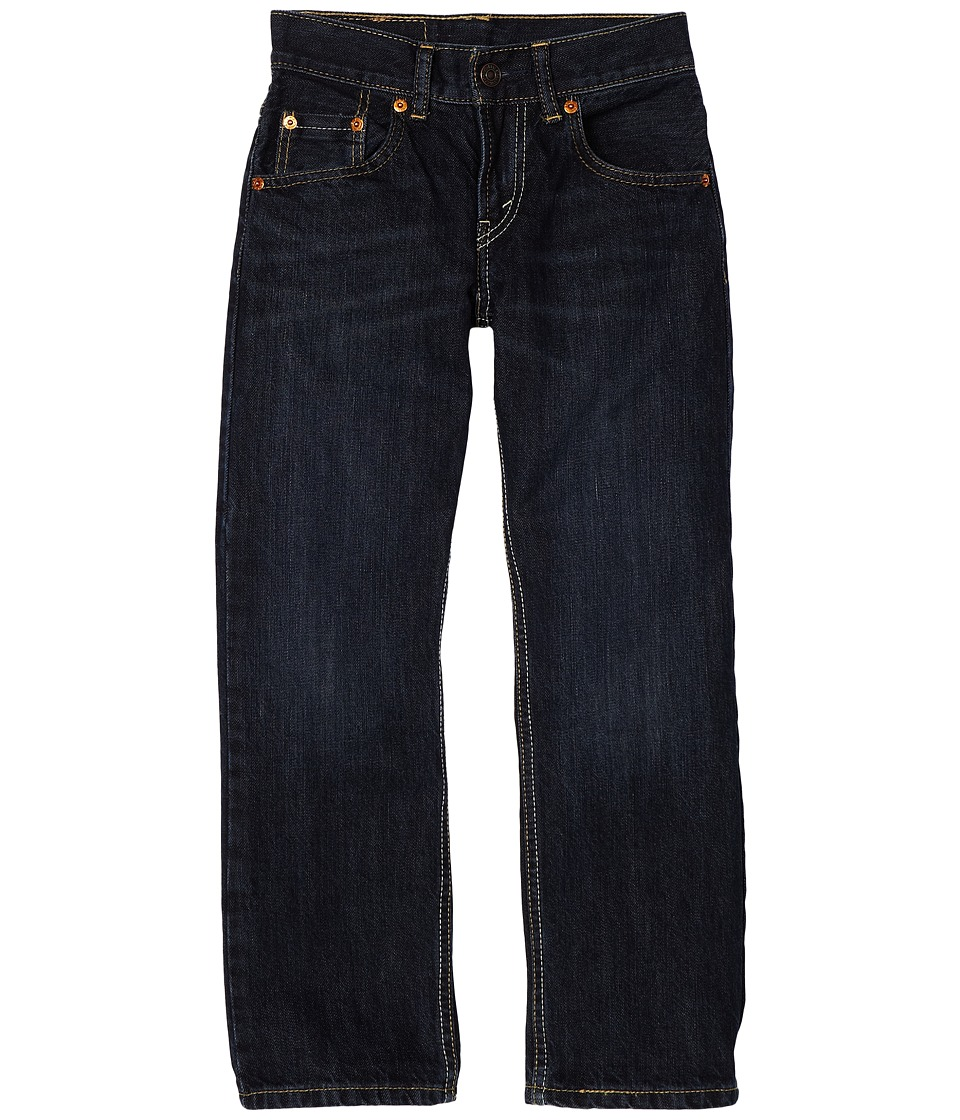 Levis(r) Kids - 505tm Regular Fit Jean - Slim (Big Kids) (Midnight) Boys Jeans