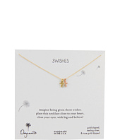 Dogeared Jewels - 3 Wishes Little Crosses