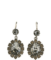 Juicy Couture - Punk Rocks Crystal Oval Rhinestone Drop Earring
