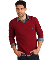 Original Penguin - Hector Saddle Raglan V-Neck Sweater