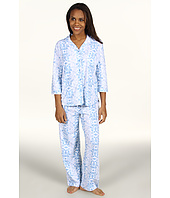Karen Neuburger - Chicory 3/4 Sleeve Girlfriend Long PJ