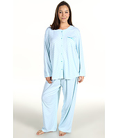 Karen Neuburger - Plus Size Charmed L/S Cardigan Long PJ