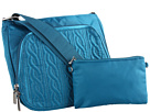 Baggallini - Allure Crossbody (Lagoon/Pink) - Bags and Luggage