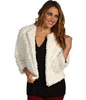 Kensie - Cropped Faux Fur Jacket