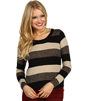 Kensie - L/S Striped Sweater