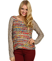 Kensie - L/S Colorful Yarn Sweater