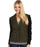 Kensie - Tweed Sweater Sleeve Jacket