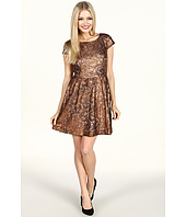 Kensie - Foiled Lace Dress