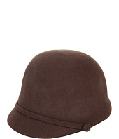 Cheap Lauren Ralph Lauren Wool Felt Riding Cap Macdougal Brown