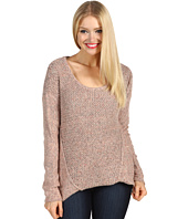 Kensie - Pieced Marled Sweater