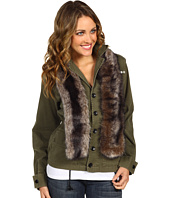 BCBGeneration - Jacket w/ Faux Fur Collar
