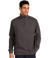 U.S. Polo Assn - Long Sleeve 1/4 Zip Mock Neck