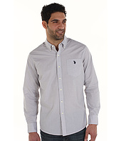 U.S. Polo Assn - Slim Fit Check Pattern Woven Shirt