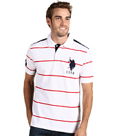 U.S. Polo Assn - Striped Polo w/ Big Pony