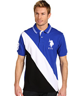 U.S. Polo Assn - Color Block Solid Pique Polo