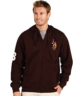U.S. Polo Assn - Full Zip Hoodie W/ Multi Color Pony
