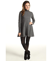Autumn Cashmere - Flared Rib Dress