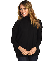Autumn Cashmere - Boxy Turtleneck with Uneven Rib