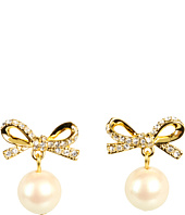 Kate Spade New York - Skinny Mini Pearl Drop Earrings