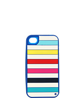 Kate Spade New York - Candy Stripe Silicone Case for iPhone® 4