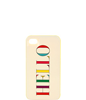 Kate Spade New York - Hello Resin Case for iPhone® 4