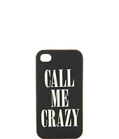 Kate Spade New York - Call Me Crazy Silicone Case for iPhone® 4