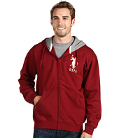 U.S. Polo Assn - Full Zip Hoodie W/ Contrast Thermal Lining And Big Pony