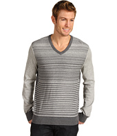 Calvin Klein - L/S Striped Plaited Sweater