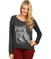 Kensie - L/S Owl Sweater