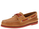 Sperry Top-Sider - A/O 2-Eye Neon (Sahara/Neon Red)