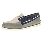 Sperry Top-Sider - A/O 2-Eye Burnished (Cement/Dark Blue/Cool Gray)