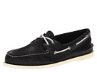 Sperry Top-Sider - A/O 2-Eye Burnished (Black 2) - Footwear