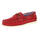 Sperry Top-Sider - A/O 2 Eye Canvas (Red Canvas)