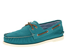 Sperry Top-Sider - A/O 2 Eye Canvas (Turquoise Canvas)
