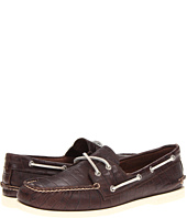 Sperry Top-Sider - A/O 2-Eye Croc Emboss