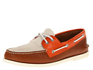 Sperry Top-Sider - A/O 2 Eye (Off White/Brown/Orange)