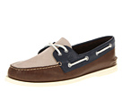Sperry Top-Sider - A/O 2 Eye (Off White/Mahogany/Navy)