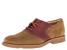 Sperry Top-Sider - Jamestown Saddle Oxford (Noce Suede/Oxblood)