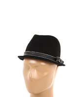 Juicy Couture - Short Fedora w/ Stud & Bow Detail