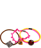 Juicy Couture - Basic Stone Elastics w/ Charms